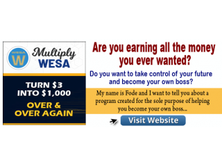 HOW WOULD YOU LIKE TO EARN MONEY AND HAVE FUN MAKING IT?