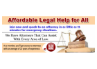 Have Access to An Attorney Within 4 hours or less- Download Free Mobile App Now!
