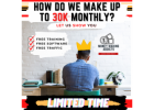 (Limited Time) 100% FREE 30K A Month Online Business System