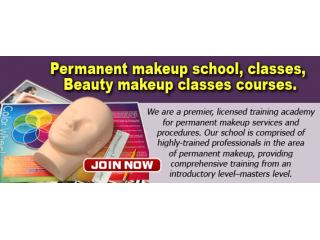 Permanent makeup school, classes, Beauty makeup classes courses
