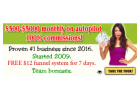 FREE entry! Proven $12 system 100% payouts