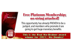 Free Platinum Membership