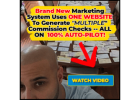 NEVER DONE BEFORE ONLINE MARKETING SYSTEM WITH 4 INCOME STREAMS ALL DONE ON 100% AUTOMATED SYSTEM