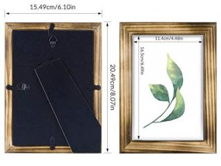 Picture Frame Set-Wood with Real Glass