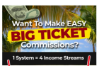 Here's How You Can Bank Huge Commissions From 4 Income Streams Using 1 Autopilot System