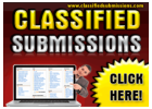 Your Classified Ad Promoted to?1000's+ Advertising Pages Each Month!