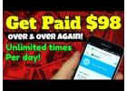 Want Instant $98 Payments