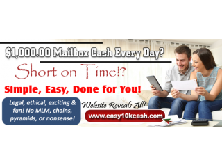 $1,000 Mailbox Cash Every Day?