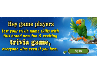 A Brand New Fun & Exciting Trivia Game Just Released!