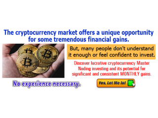 Earn from the Cryptocurrency Market