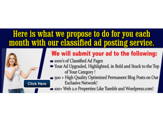 Get Massive Exposure For Your Ad in Just A Few Clicks