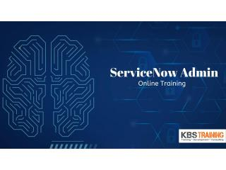 Servicenow Admin Online Training In USA