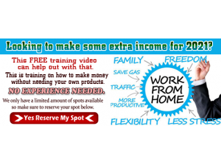 Free Training video on how to make Residual income in 2021