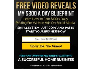 Receive UNLIMITED $300 Payments with 100% Commissions Paid To You