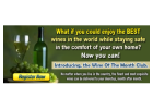 Fine Wines are at your fingertips!