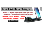 Amazing 6-in-1 Charger Powers All Your Digital Mobile Devices Simultaneously!