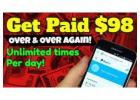 $98 Dollar Payments Directly Into Your Account!