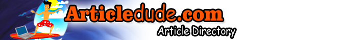 Articledude.com Link And Article Directory
